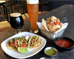 Tasty Food Collaborations at LABrewatory